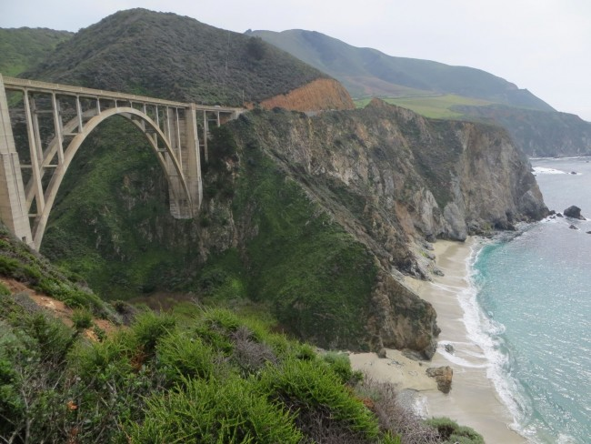 Bixby Creek Bridge Beach