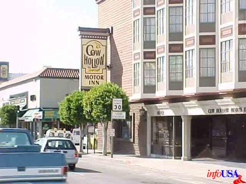 cow hollow motor inn san francisco ca california beaches